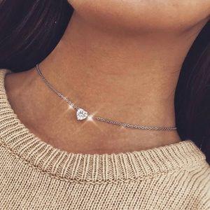 Jewelry - Heart ❤️ Charm Choker